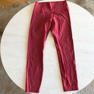 Lululemon Wunder Under Leggings high waisted